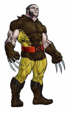 Marvel Comics, Marvel Art, John Byrne, Alex Ross, Great Pic, Metallic Blue, Xmen, Wolverine, Cool Suits