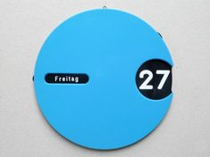 This is one of my inspirational products as it is a simple design but is effective. As seen, there is a window for the number along with a little window for something which might be the day of the week. The way to use this would be to have the numbers spread across, under the blue surface so when the surface is rotated, the day changes. I feel like this is an effective product as it fulfills the need of the product well and is a simple design.