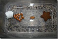 Why didn't the Gingerbread man want to cross the river?  Disintegration activity, so cool