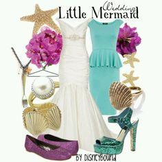 Lil mermaid wedding