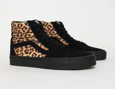 #Vans Sk8-HI Leopard