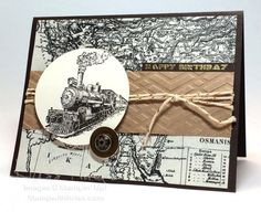 SUO Train Traveler by krissiestamps - Cards and Paper Crafts at Splitcoaststampers