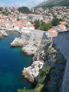 Dubrovnik, Croatia. Fun city to visit and pretty inexpensive!