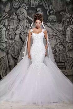 Mermaid Wedding Dresses (80)