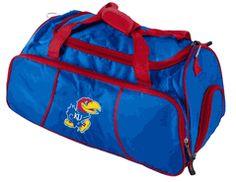 Kansas Jayhawks Duffle Travel - Gym Bag $42.00