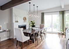 Love It Or List It Vancouver - dining room lighting