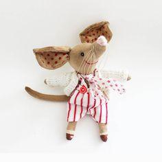 Bilby Wallis cloth doll primitive art doll by littleblackcrow, $55.00
