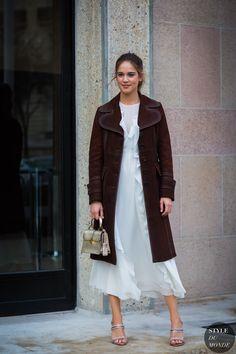 Matilda Anna Ingrid Lutz Street Style Street Fashion Streetsnaps by STYLEDUMONDE Street Style Fashion Photography