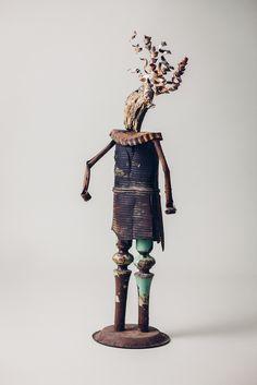 Young Ulrich von Jungingen, #sculpture #art #upcycling #Wawrzyniak #Michał