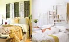 la idea de las persianas viejas está fantástica