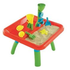 This sand and water Activity table was a big hit when I first posted about it on the blog.  We love the fun stuff that comes with it but especially that it has a cover - so much easier to keep clean! $49.95