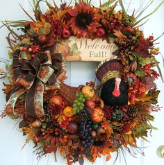 This And That In My Treasure Box: Fall Wreath Favorites