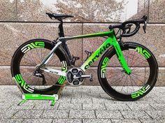 Cav's new bike
