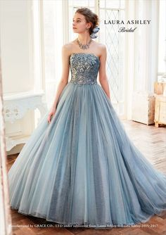 Ideas For Wedding Gowns Beautiful Romantic Disney Princess Dresses, Disney Dresses, Blue Wedding Dresses, Wedding Gowns, Ballroom Dress, Ball Gown Dresses, Beautiful Gowns, Dream Dress, Homecoming Dresses