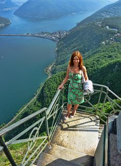 Monte San Salvatore in Lugano has the most amazing views! Luxury Columnist – a l… Best Of Switzerland, Places In Switzerland, Lugano, Places To Travel, Places To See, Easy Jet, Lake Como, Travel Inspiration, Beautiful Places