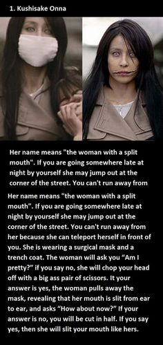 List of the top,most horrifying Japanese urban legends. (10 Photos)