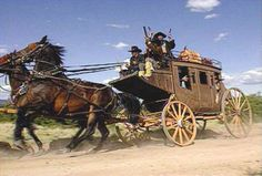 Diligências ou carroções do Velho Oeste, quando em velocidade, andavam para trás