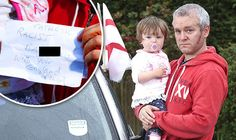 Father-of-two branded pathetic racist for flying England flags on his car for Euro 2016