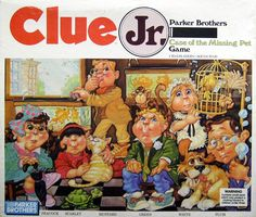 The original Clue Jr. - I remember when this first came out.  It's not as good as regular Clue, but it was cute.