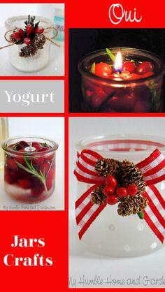 Crafts With Glass Jars, Mason Jar Crafts, Mason Jars, Holiday Crafts, Fun Crafts, Amazing Crafts, Holiday Decor, Christmas Jars, Christmas Decorations