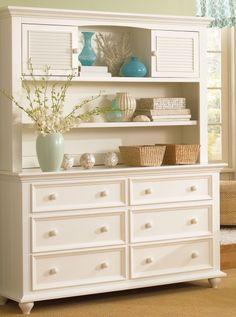 Double Dresser Hutch Munire Furniture Rockport