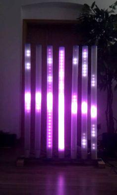 7x RGB-Tube EP T32   --  DIY LED MATRIX EP-Lights - www.ep-lights.de
