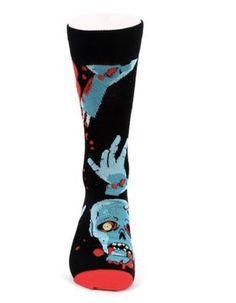 Life Is Too Short To Wear Boring Socks! Halloween Socks, Crazy Socks, Funny Socks, Novelty Socks, Boyfriend Gifts, Groomsmen, How To Look Better, Brand New, Zombie