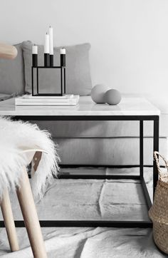 Only Deco Love: Winter Living Room Makeover