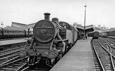 Belfast York Road Station, with a steam train by Ben Brooksbank Old Steam Train, Disused Stations, British Rail, Steam Locomotive, Belfast, Northern Ireland, 21st Century, Tower, York