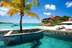 It's all glitz and A-list glamour in the perfect island paradise of St Barths! #Travel #TTOT #Luxury #Ocean