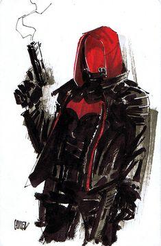 Red Hood Comic, Batman Red Hood, Batman Robin, Batman Arkham Origins, Batman Arkham Knight, Gotham Batman, Dc Comics Characters, Dc Comics Art, Red Hood Wallpaper