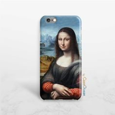 Mona Lisa phone case, iPhone 7 6 6s 6Plus phone case, iPhone SE 5 5s case, Samsung Galaxy S7 Edge S6 S5 S4 S3 Mona Lisa phone case by CaseOcean on Etsy