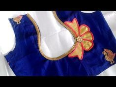 Hello Viewers Welcome To MMS DESIGNER. This video will show you how to create a beautiful and simple way MMS Latest Blouse Back Neck designs Easy Cutting and. Patch Work Blouse Designs, Kids Blouse Designs, Simple Blouse Designs, Saree Blouse Neck Designs, Stylish Blouse Design, Blouse Patterns, Sari Blouse, Chudi Neck Designs, Dress Neck Designs