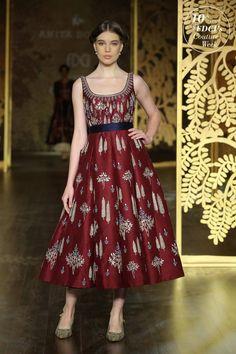 Indian Western Dress, Western Dresses, Indian Dresses, Indian Outfits, Pakistani Outfits, Indian Clothes, Lakme Fashion Week, India Fashion, Ethnic Fashion