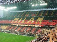 Tifos AC. Milan