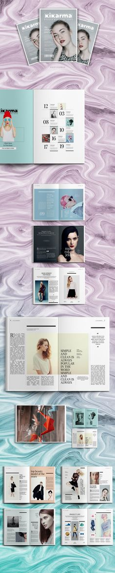"""Check out my @Behance project: """"Magazine"""" https://www.behance.net/gallery/42123793/Magazine"""