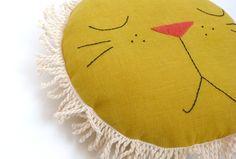 Image of Sleeping Lion Pillow