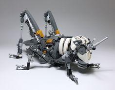 LEGO Mech Locusta migratoria-01 by ToyForce 120 http://flic.kr/p/PdTFVK