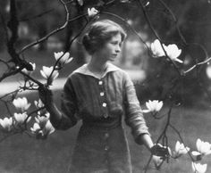 Edna St. Vincent Millay - (first woman to win the Pulitzer Prize for poetry).