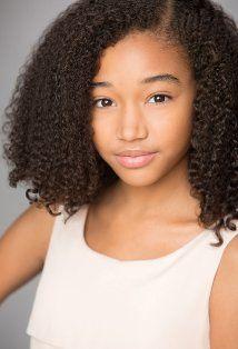 Amandla Stenberg - Hunger Games - African American, Danish, Greenlandic