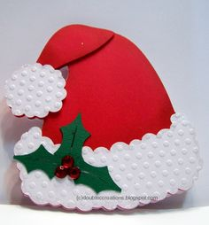 Double C Creations: Santa Cards