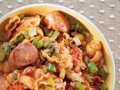 Uit die Huisgenoot kombuis: Brandslaai met pasta en chorizo