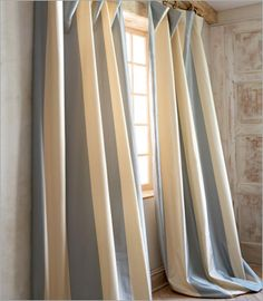 How to measure and hang curtains