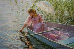 Romantic Paintings of Women