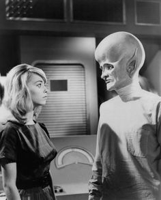 The Outer Limits - The make up for this character played by David McCallum was the first thing in a movie or tv show to freak me out.
