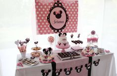 Minnie Mouse Birthday Party Ideas | Photo 8 of 15 | Catch My Party