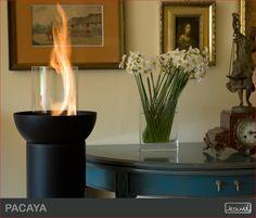 Ach, jak się pięknie pali! Tę lampę na biopaliwo można postawić dosłownie w każdym pomieszczeniu, jak również wynieść na zewnątrz - na taras czy do przydomowego ogródka! #lampa   #biokominek   #dekoracja   #dekoracjawnętrz   #lampystojące   #biokominki   #wnętrza   #oświetlenie   #oświetleniedekoracyjne #fireplace #interior