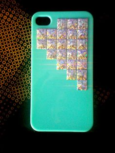 Studded Mint Green iPhone 4 Case, Holographic Pyramid Studs iPhone 4S, Studded Case, Mint Green, Pyramid Studs, Galaxy S3 (MORE CLRS Msg Me)