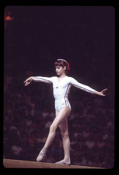 Olympic Sports, Olympic Games, Summer Olympics, Olympics News, Famous Gymnasts, Nadia Comaneci, Female Gymnast, Still Image, Stock Pictures