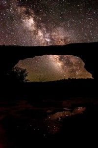 The Owachomo Bridge At Natural Bridges National Monument in Utah. » From Destination Darkness: The Increasingly Rare Starscapes of the Colorado Plateau National Parks